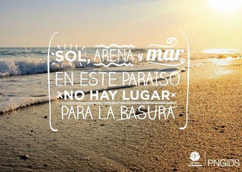 Ecuador es playas limpias