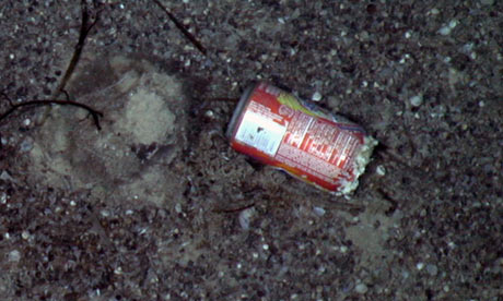Deep-sea pollution at 2,300 meters has arrived before the James Cook survey. Photograph: NERC