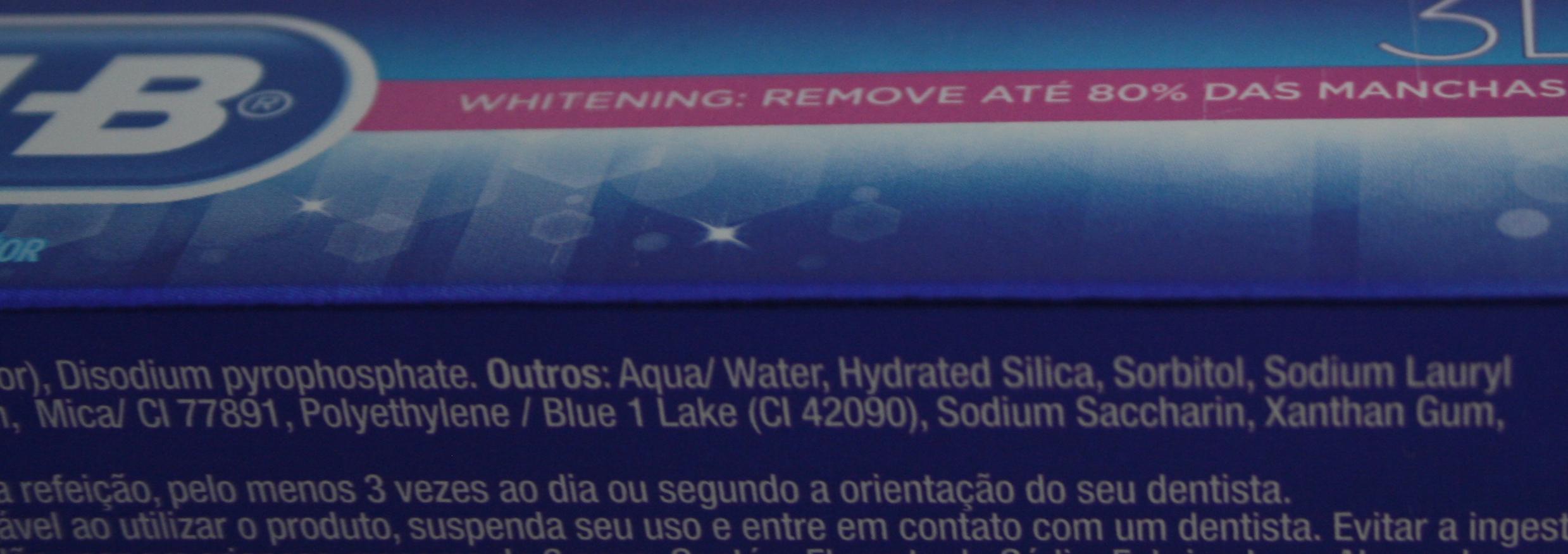 Exemplo de foto com detalhe dos ingredientes, evidenciando a presença de Polyethylene. Foto: André Branco