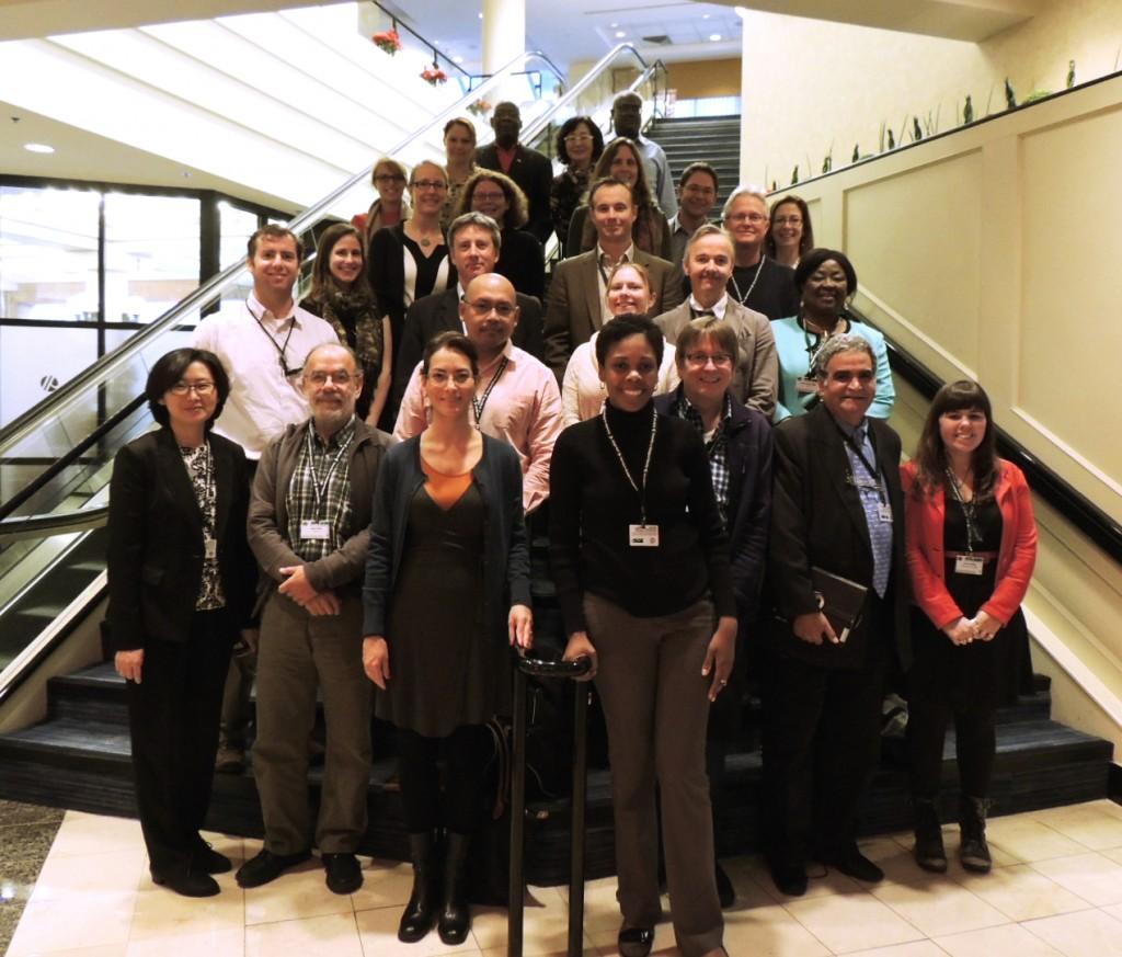 Foto do grupo de participantes do workshop - ©Heidi Acampora